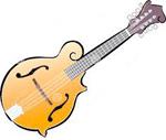 Illustration of a mandolin
